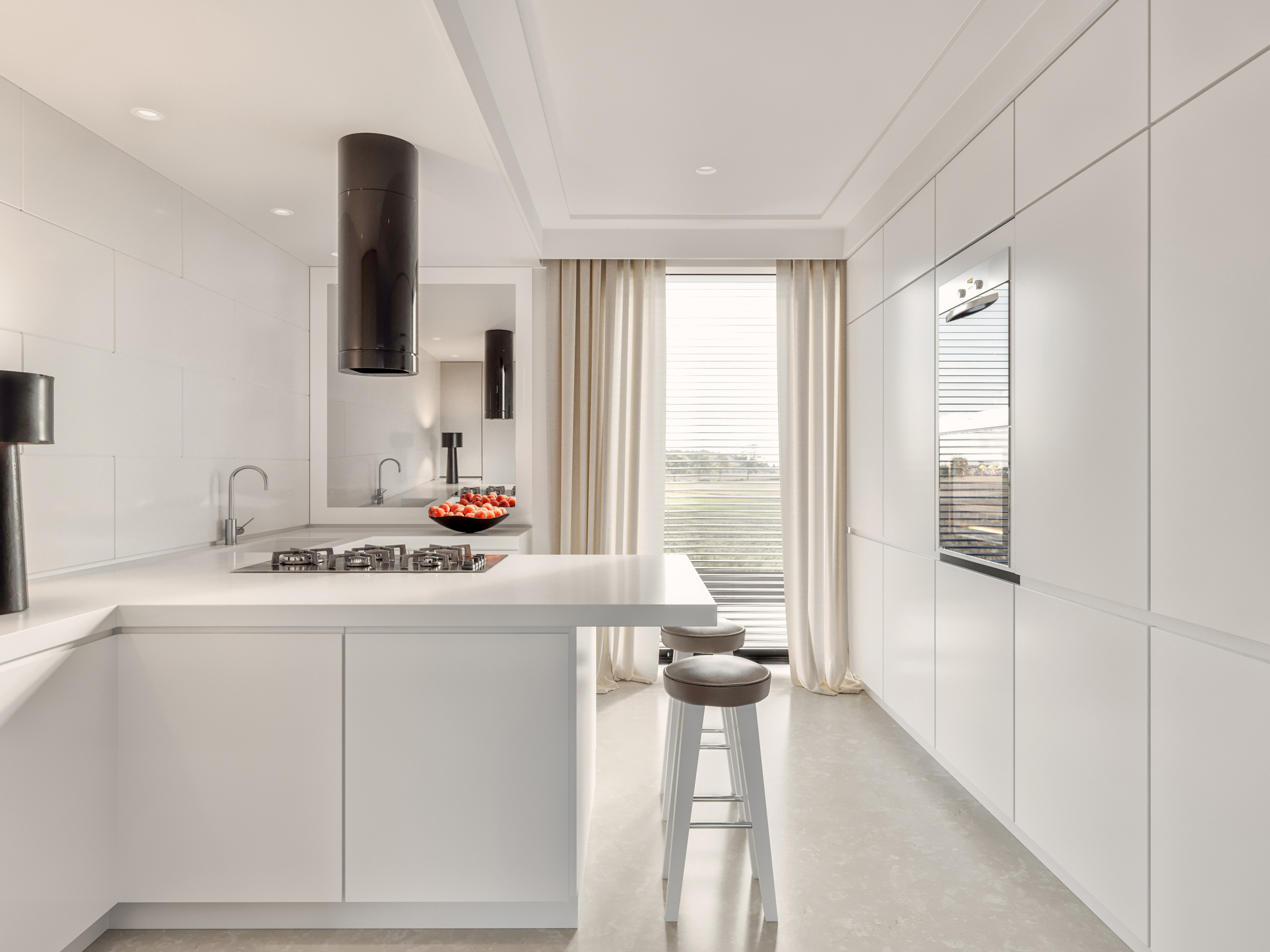 Kitchen interior design for Stefano Dorata