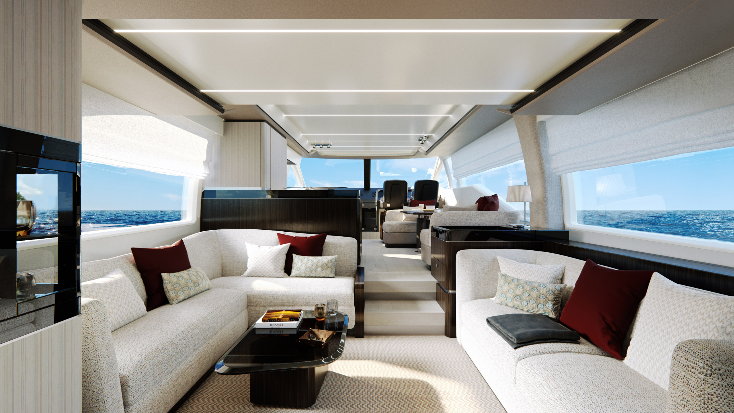 Yacht Design Azimut living